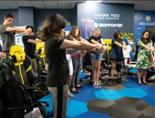 ICE invited to speak at UCI Summer Camps for ESports:  Girls in Gaming and Fundamentals of Gaming